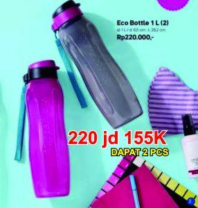 eco bottle botol tupperware 1 Liter